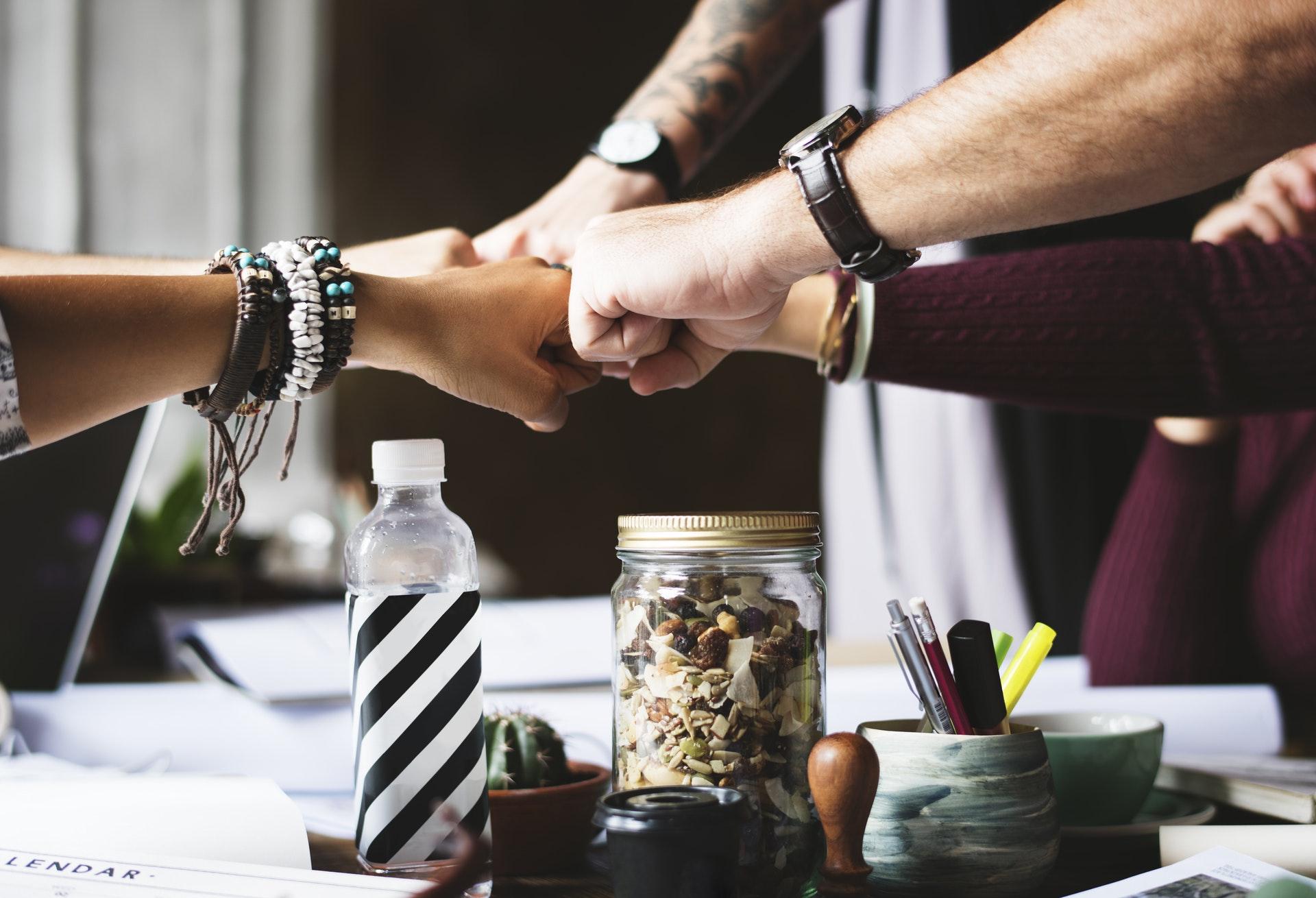 El trabajo en equipo es esencia para obtener mejores resultados.