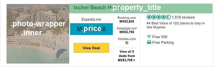 Datos del hotel del div con clase .prw_meta_hsx_responsive_listing